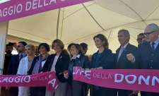 "INAUGURATO IL VILLAGGIO DELLA SALUTE  ""RACE FOR THE CURE"""